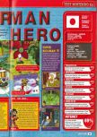 Scan of the review of Bomberman Hero published in the magazine Consoles + 077, page 2