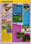 Scan of the review of Bust-A-Move 3 DX published in the magazine Consoles + 083