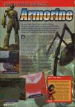 Scan of the review of Armorines: Project S.W.A.R.M. published in the magazine Consoles + 095