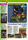 Scan of the preview of  published in the magazine Consoles + 101, page 1
