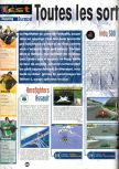 Scan of the review of Aero Fighters Assault published in the magazine Joypad 075