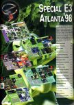 Scan of the article Joypad E3 1998 published in the magazine Joypad 077, page 1