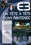 Scan of the article Joypad E3 1998 published in the magazine Joypad 077, page 2