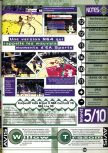 Scan of the review of NBA Live 99 published in the magazine Joypad 081
