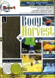 Scan of the review of Body Harvest published in the magazine Joypad 081