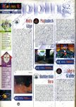 Scan of the review of Bomberman Hero published in the magazine Joypad 081, page 1