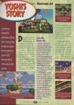Scan of the review of Yoshi's Story published in the magazine Player One 085