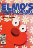 Scan of the review of Elmo's Number Journey published in the magazine X64 26, page 1