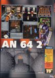 Scan of the review of Bomberman 64: The Second Attack published in the magazine X64 26, page 2