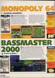 Scan of the review of Monopoly published in the magazine X64 26