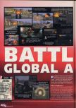 Scan of the review of Battletanx: Global Assault published in the magazine X64 26