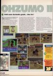 Scan of the review of 64 Oozumou 2 published in the magazine X64 26
