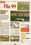 Scan of the review of FIFA 99 published in the magazine Player One 095