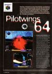 Scan of the preview of Pilotwings 64 published in the magazine Super Power 043