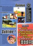 Scan of the preview of Mystical Ninja Starring Goemon published in the magazine Super Power 045