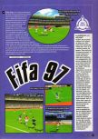Scan of the preview of FIFA 64 published in the magazine Super Power 046