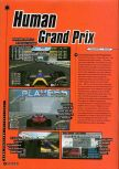 Scan of the preview of F1 Pole Position 64 published in the magazine Super Power 046