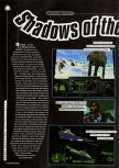 Scan of the preview of Star Wars: Shadows Of The Empire published in the magazine Super Power 046