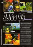 Scan of the preview of The Legend Of Zelda: Ocarina Of Time published in the magazine Super Power 047