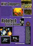 Scan of the preview of Robotech: Crystal Dreams published in the magazine Super Power 047