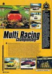 Scan of the preview of Multi Racing Championship published in the magazine Super Power 047
