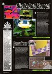 Scan of the preview of Blade & Barrel published in the magazine Super Power 047, page 1