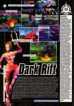 Scan de la preview de Dark Rift paru dans le magazine Super Power 047