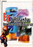 Scan of the article E3 : Les plus beaux jeux sont sur Nintendo 64 published in the magazine Super Power 047, page 1