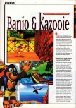 Scan of the preview of Banjo-Kazooie published in the magazine Super Power 047