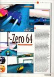 Scan of the preview of F-Zero X published in the magazine Super Power 047