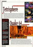 Scan of the article E3 : Les plus beaux jeux sont sur Nintendo 64 published in the magazine Super Power 047, page 7