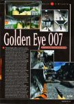 Scan of the preview of Goldeneye 007 published in the magazine Super Power 047