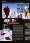 Scan of the preview of Superman published in the magazine Super Power 047