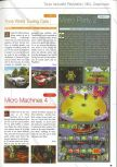 Scan of the preview of Mario Party 2 published in the magazine Consoles News 37