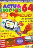 Cover scan of magazine Actu & Soluces 64  04