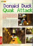 Scan of the review of Donald Duck: Quack Attack published in the magazine Actu & Soluces 64 04