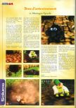 Scan of the walkthrough of  published in the magazine Actu & Soluces 64 04, page 3