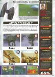 Scan of the review of Star Wars: Rogue Squadron published in the magazine Consoles News 30