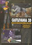 Scan of the preview of Castlevania published in the magazine Consoles News 30