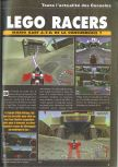 Scan of the preview of Lego Racers published in the magazine Consoles News 30