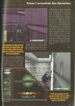 Scan of the preview of Operation WinBack published in the magazine Consoles News 30
