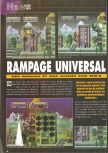 Scan of the preview of Rampage 2: Universal Tour published in the magazine Consoles News 30