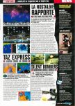 Scan of the preview of Taz Express published in the magazine Consoles Max 02