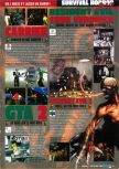 Scan of the preview of Resident Evil 2 published in the magazine Consoles Max 02