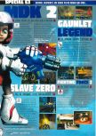 Scan of the preview of Gauntlet Legends published in the magazine Consoles Max 02