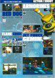 Scan of the preview of Armorines: Project S.W.A.R.M. published in the magazine Consoles Max 02