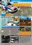 Scan of the preview of Rally Masters published in the magazine Consoles Max 02