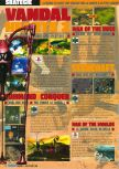 Scan of the preview of Command & Conquer published in the magazine Consoles Max 02