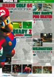 Scan of the preview of Mario Golf published in the magazine Consoles Max 02