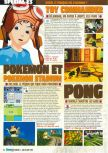 Scan of the preview of Pokemon Stadium published in the magazine Consoles Max 02